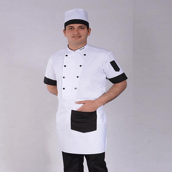 لباس فرم نانونایی سفید